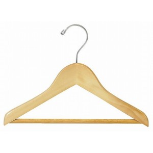 "11"" Childrens Top Hanger w/ Pant Bar"