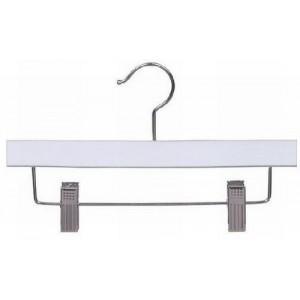 "10"" White Childrens Pant/Skirt Hanger"