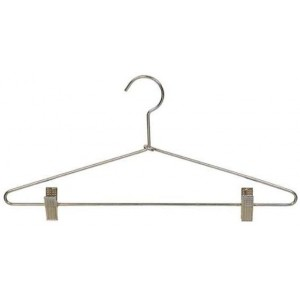 "17"" Metal Combination Hanger w/ Clips"
