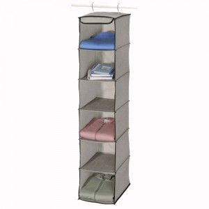 Linen Six Shelf Organizer