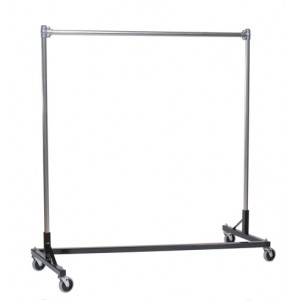 "Heavy-Duty Industrial ""Z"" Rack w/ Black Base"