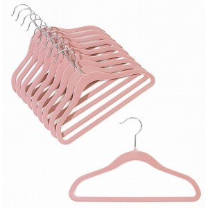 "12"" Childrens Pink Slim-Line Hanger"